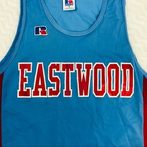 Vintage Eastwood basketball tank 628 made in USA